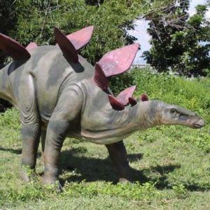 FRP恐竜オブジェ ステゴサウルス|frps