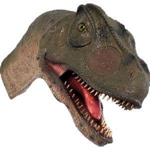 FRP恐竜オブジェ 口を開けるアロサウルスの頭部 【即納可】|frps