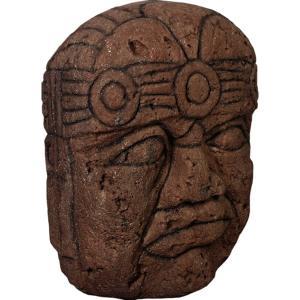 オルメカの頭・石像・170センチ FRPオブジェ|frps