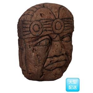 オルメカの頭・石像・170センチ FRPオブジェ|frps|03