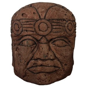 オルメカの頭・石像・170センチ FRPオブジェ|frps|04