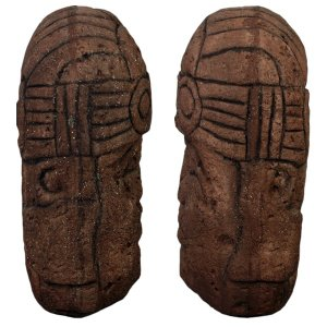 オルメカの頭・石像・170センチ FRPオブジェ|frps|05