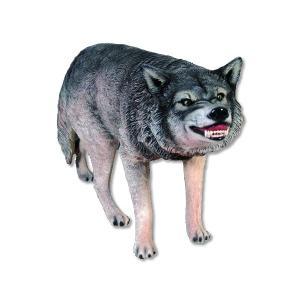 オオカミ FRPアニマルオブジェ|frps
