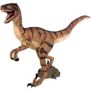 ヴェロキラプトル FRP恐竜オブジェ 即納可|frps