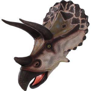 FRP恐竜オブジェ トリケラトプスの頭|frps