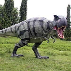 歩くティーレックス FRP恐竜オブジェ