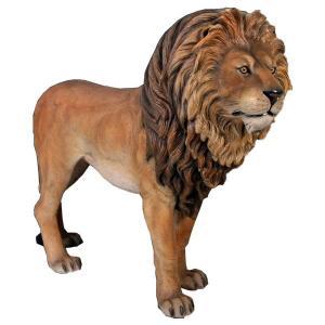 雄ライオン FRPアニマルオブジェ|frps