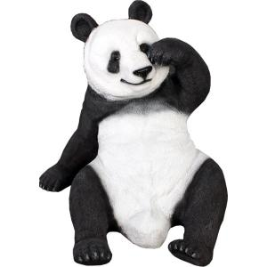 FRPアニマルオブジェ 戯れるパンダ 【即納可】|frps