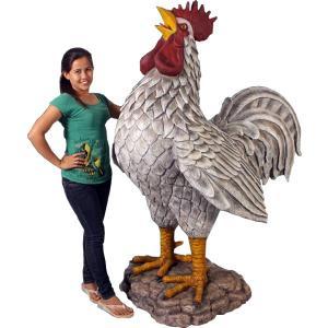 巨大な雄鶏 FRPアニマルオブジェ|frps