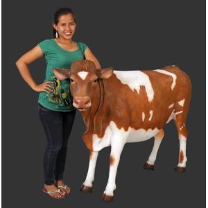 ガーンジー乳牛 FRPアニマルオブジェ|frps|05