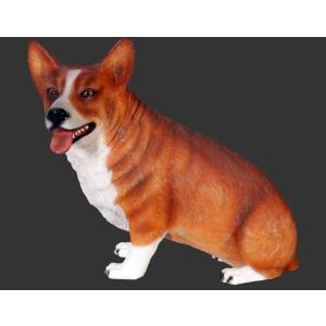 おすわりコーギー犬 FRPアニマルオブジェ 即納可|frps|05