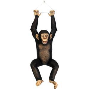 ぶらさがるチンパンジー FRPアニマルオブジェ 即納可|frps