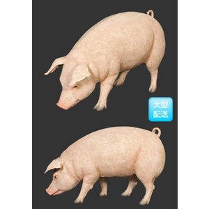 母さん豚 FRPアニマルオブジェ 即納可|frps|03
