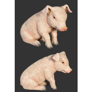 すわる子豚 FRPアニマルオブジェ 即納可|frps|03