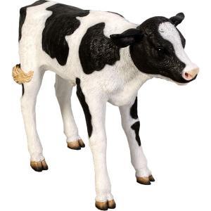 生まれたての乳牛 FRPアニマルオブジェ 即納可|frps