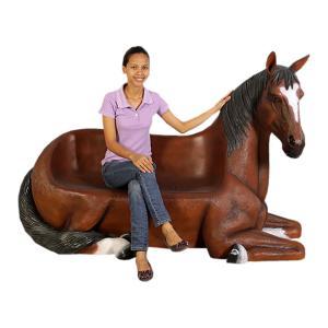 馬の腰掛け FRPアニマルオブジェ|frps