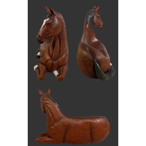 馬の腰掛け FRPアニマルオブジェ|frps|04