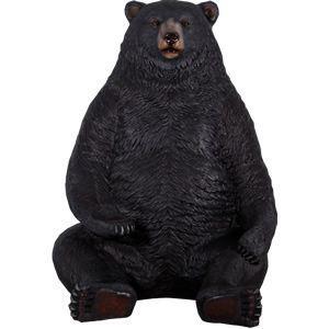 巨大な黒クマ FRPアニマルオブジェ|frps