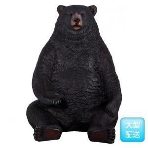 巨大な黒クマ FRPアニマルオブジェ|frps|02
