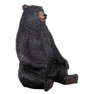 巨大な黒クマ FRPアニマルオブジェ|frps|03