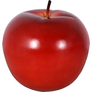 FRPオブジェ 赤リンゴ・80cm|frps