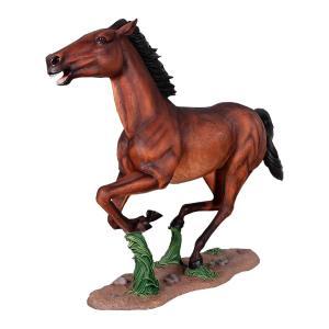 躍動する馬 FRPアニマルオブジェ|frps