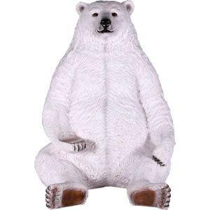 FRPアニマルオブジェ 巨大な白クマ|frps