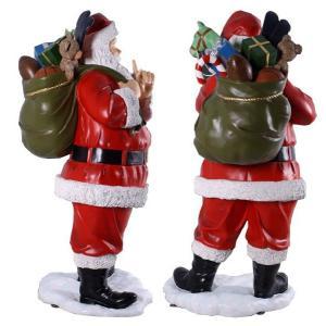 FRPクリスマスオブジェ プレゼント一杯のサンタ|frps|04
