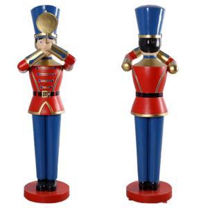 トランペットおもちゃの兵隊184cm FRPオブジェ|frps|04