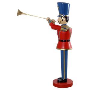 トランペットおもちゃの兵隊184cm FRPオブジェ|frps|06
