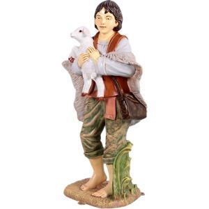 羊飼いの少年(小) FRPアニマルオブジェ|frps