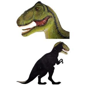 FRP恐竜オブジェ 壁掛けT-Rex|frps|05
