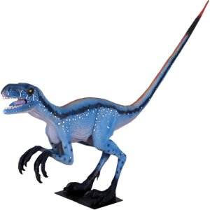 凶暴なディノニクス FRP恐竜オブジェ frps