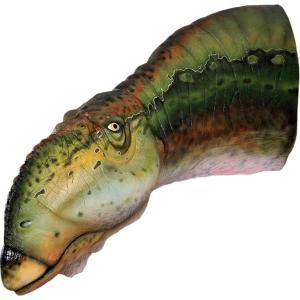 FRP恐竜オブジェ ムッタブラサウルスの頭部|frps