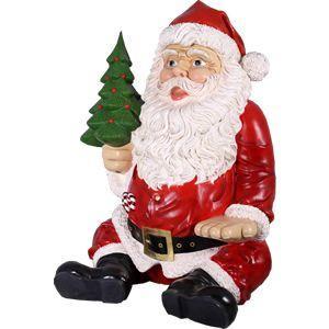 FRPクリスマスオブジェ 巨大な座るサンタ|frps