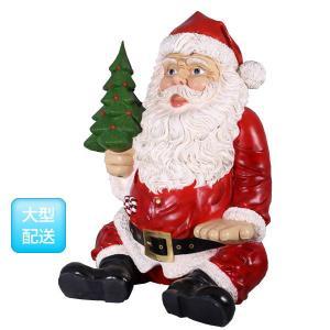 FRPクリスマスオブジェ 巨大な座るサンタ frps 03