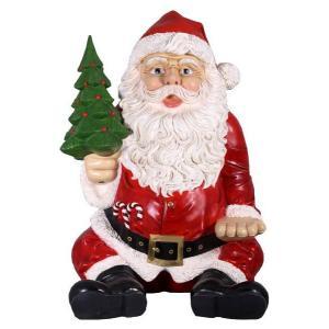 FRPクリスマスオブジェ 巨大な座るサンタ frps 04