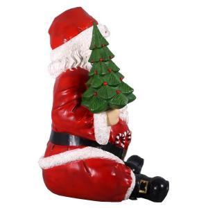 FRPクリスマスオブジェ 巨大な座るサンタ frps 05