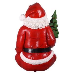 FRPクリスマスオブジェ 巨大な座るサンタ frps 06