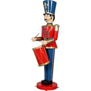 ドラムおもちゃ兵隊275cm FRPオブジェ|frps