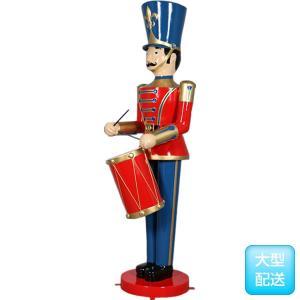ドラムおもちゃ兵隊275cm FRPオブジェ|frps|03