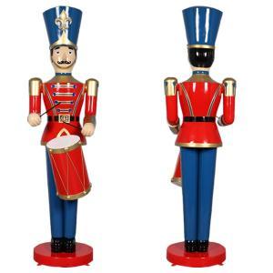 ドラムおもちゃ兵隊275cm FRPオブジェ|frps|04
