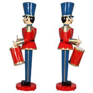 ドラムおもちゃ兵隊275cm FRPオブジェ|frps|05