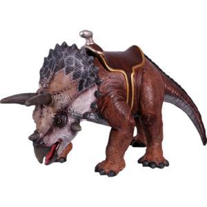 FRP恐竜オブジェ 乗れるトリケラトプス|frps