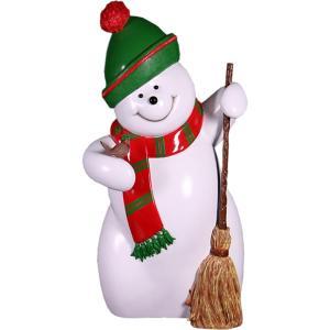 FRPクリスマスオブジェ スノーマン・160cm|frps