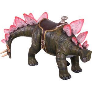 FRP恐竜オブジェ 乗れるステゴサウルス 【即納可】|frps