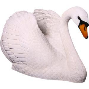 FRPアニマルオブジェ 白鳥|frps