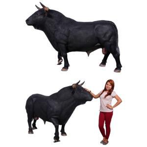 スペインの闘牛 FRPアニマルオブジェ|frps|06