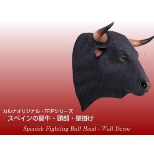 黒毛牛の頭部・壁掛け FRPアニマルオブジェ 即納可|frps|02