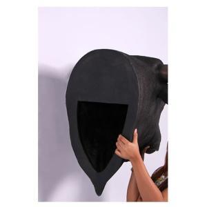 黒毛牛の頭部・壁掛け(ブロンズ) FRPアニマルオブジェ 即納可|frps|05